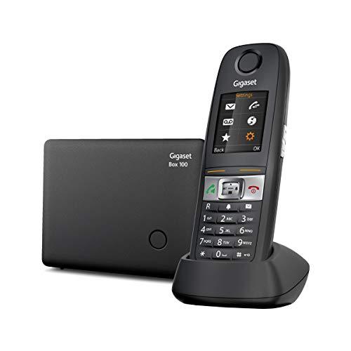 Gigaset E630 - Teléfono Inalámbrico Resistente a Polvo, Golpes y Salpicaduras, Color Negro