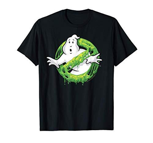 Ghostbusters Ghost Logo Green Slime...