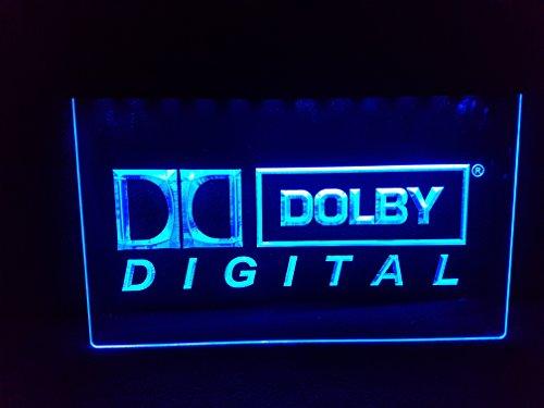 Dolby Digital DTS NEON 3D Neonschild LED Neu Schild Reklame Werbung Heimkino
