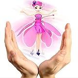 Lispeed Fliegende Fee Puppe, Fairies Hand Infrarot Induktionskontrolle Puppen Kind Fliegen Spielzeug...