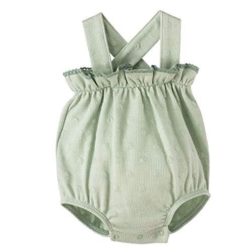 CALAMARO - Peto Bebe bebé-niños Color: Menta Talla: 6M