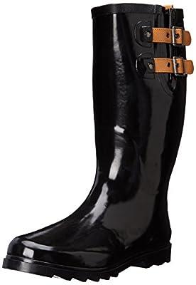 Chooka Women's Tall Rain Boot, Espresso, 10 M US