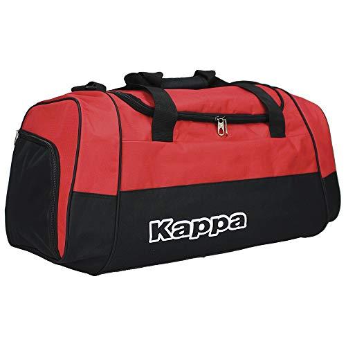 Kappa BRENNO Sporttasche Unisex Erwachsene, Red/Black, FR: M (Größe Hersteller: M)