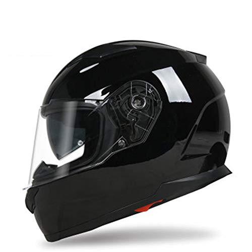 Helm mannelijke motorfiets dubbele lens full face helm locomotief persoonlijkheid dames racen sportwagen persoonlijkheid koele volledige cover