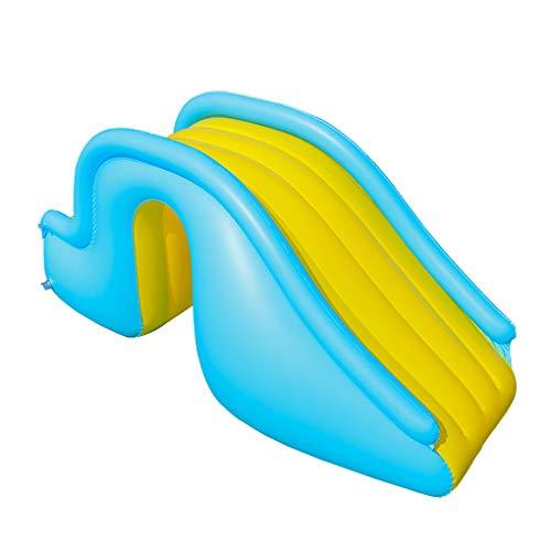 Iwähle Aufblasbare Rutschen Wasserrutschen für Kinder Hinterhof Sommer Wasserparty Wasserrutschen für Schwimmbad Geschenk Junge Mädchen