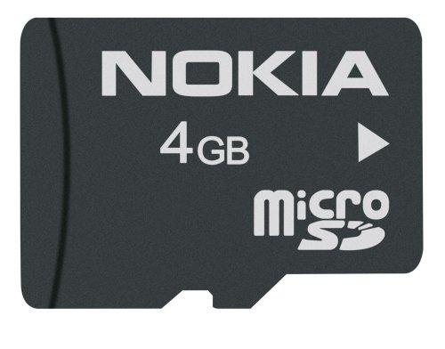 Nokia MU-41 4 GB microSD/HC  Speicherkarte