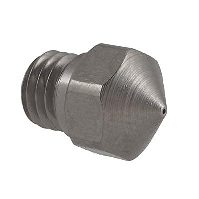micro swiss M2548-04 Resistant Nozzle MK10 Flash Forge, Plated Wear, Dermal, Power Spec, Wenham, Mono, Cocoon Create, 0.4 mm