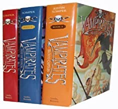 Vampirates Collection 3 Books Set Pack Justin Somper New RRP £47.97 (Demons of The Ocean, Tide of Terror, Blood Captain)