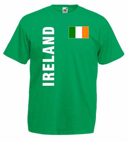 World-of-Shirt Herren T-Shirt Irland Trikot Fan Shirt|g-l