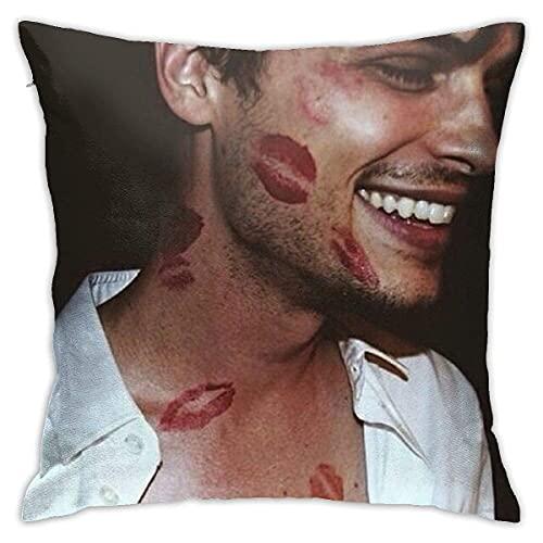 Alexa and Katie Throw Pillow Cover Cozy Square Throw Pillow Case Decorativo para el hogar para Cama Sofá Sofá Sala de Estar Funda de cojín 18
