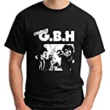 Half Charged GBH Album Street Punk Band Short Sleeve Black Men's T-Shirt