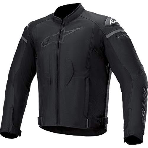 Alpinestars Motorradjacke mit Protektoren Motorrad Jacke T-GP Plus R V3 Textiljacke schwarz L, Herren, Sportler, Ganzjährig