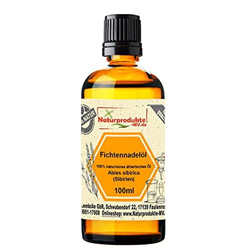 Fichtennadelöl (100 ml) 100{226453af6b96917b4cb5def5a0e65fa3c0276421a53b509758b82366013234cd} naturreines ätherisches Fichtennadel Öl