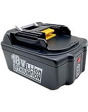 FengWings® BL1840 18V 4000mAh Lithium vervangende batterijen Compatibel met voor Makita BL1840B, BL1840 BL1845 194205-3 194309-1 194204-5 196399-0 196673-6 LXT-400