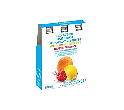 SodaStream My Water 3-Pack Syrup