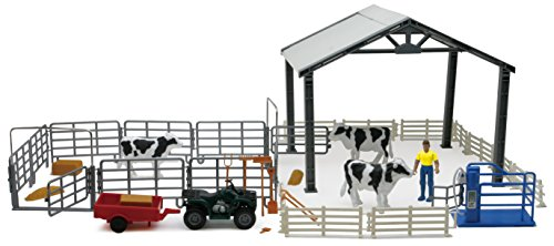 New Ray - 05045 SS - Accessoires - Coffret - Ferme Stabulation