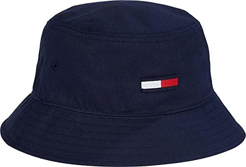 Tommy Jeans Damen TJW Flag Bucket HAT Hut, Twilight Navy, One Size