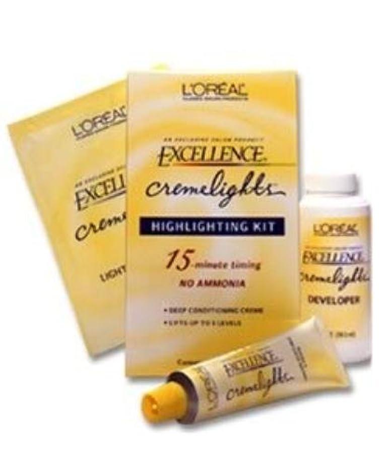 療法バイナリ役立つL'Oreal Technique Excellence Cremelights - Highlighting Kit