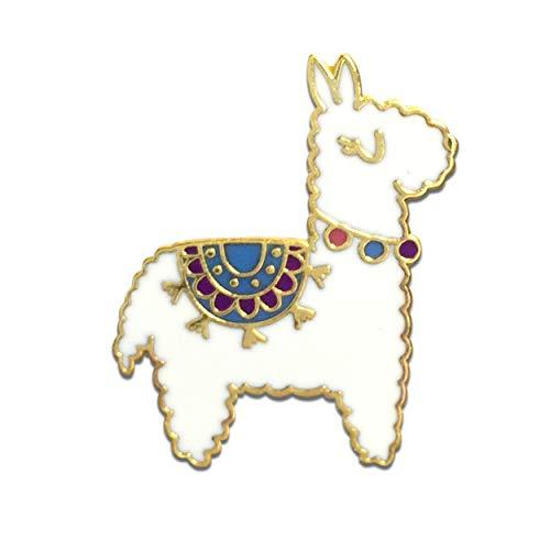 Black Jaguar Alpaka Pin | Alpaka Geschenke | Adventskalender Ideen Mädchen | Lama Anstecker | Alpaka Ansteck-Pin | Adventskalender füllen