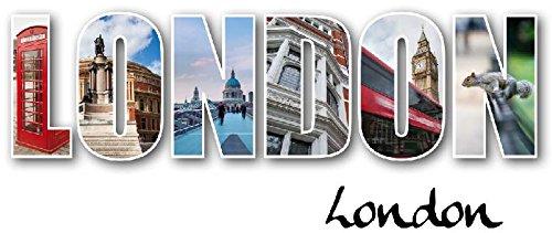 SATDL0736 - Sticker Autocollant Tête de Lit London (80x32cm)