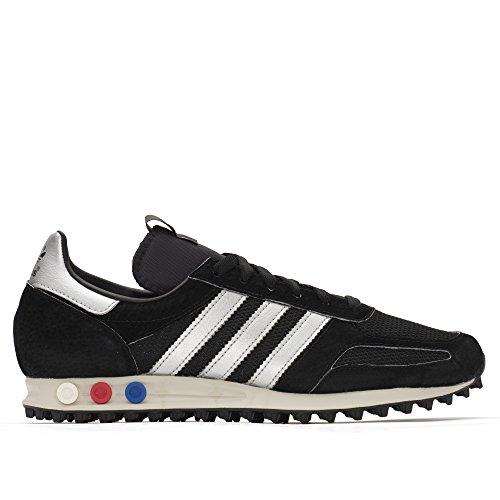 adidas Men's LA Trainer OG MIG Black/MetalicSilver BB3774 (Size: 13)