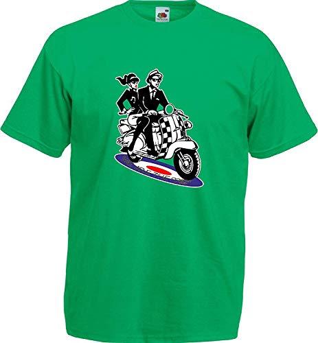 Retro Britse jaren 1960 Ska muziek Roundel Scooter Wij zijn de Mods Mens T Shirt
