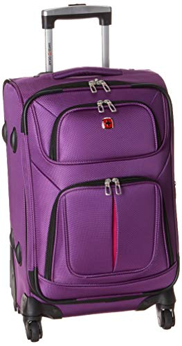 SwissGear Sion Softside Luggage with Spinner...