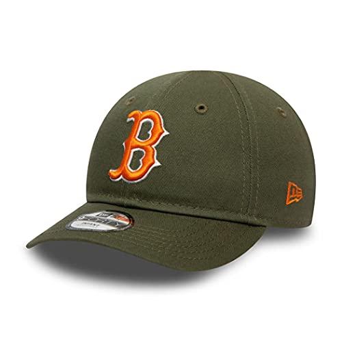 New Era Boston Red Sox Cap 9Forty Basecap Kinder Baby Kappe verstellbar MLB Oliv grün - Infant