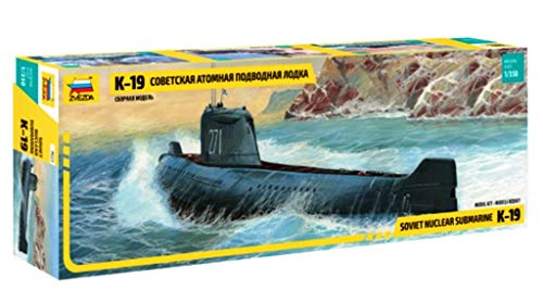 Zvezda 500789025 - 1:350 K-19 Soviet Atom U-Boot