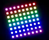 WS2812 WS2812b LED 5050 RGB 8 x 8 64 LED Matrix para Arduino Raspberry Digi Dot Panel