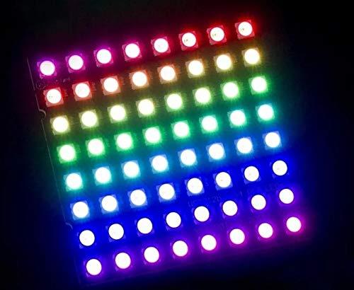 WS2812WS2812B LED 5050RGB 8x 864LED MATRIX para Arduino Raspberry Digi Dot panel