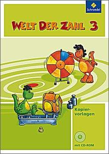 Welt der Zahl 3, Kopiervorlagen mit CD-ROM
