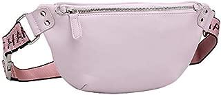 TOOGOO Fashion Women Bag Leather Waist Pack Female Hip Bum Belt Bag Women's Waist Bags Fanny Pack Chest Bags Black