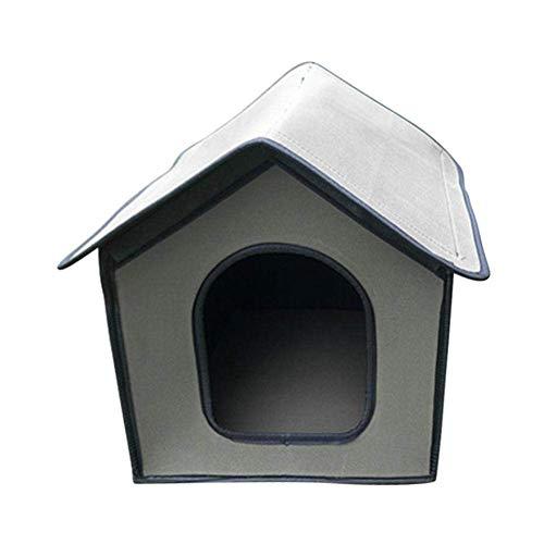 Aional Pet Outdoor House Waterproof Cat Litter Kennel Stray Cat Litter...