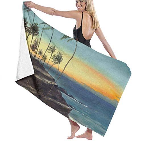 Flimy Na Toalla de baño Toalla de Playa de Maui Toalla de baño Absorbente Toalla de Ducha