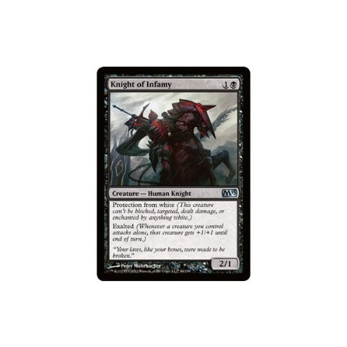 Magic The Gathering - Knight of Infamy (96) - Magic 2013 by