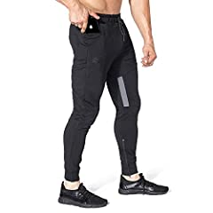 【Thigh Breathable Design】Breathable mesh on the inner thigh,Midweight Skin Friendly breathable frabic make you feel comfortable even in the hot summer. 【Extra Zipper Pocket】Right side extra hidden zipper pocket to carry your valuable accessories like...