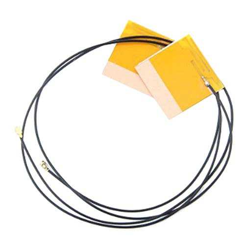 Cobeky Nuevo 1 Par de Antena InaláMbrica Interna para Computadora PortáTil WiFi para Intel 6230 3160AC 7260HMW PCI-E U.FL Adaptador de LAN InaláMbrica Antena WiFi
