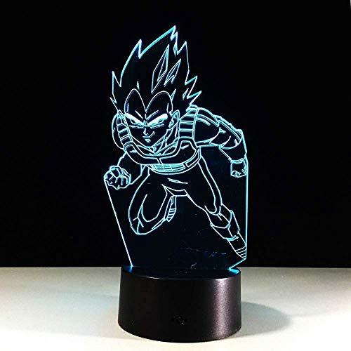 Nachtlicht Dragon Ball3DTischlampe Cooles Nachtlicht Neujahrsdekoration Kinderbeleuchtung KindergeschenkbeleuchtungLEDTouch Stereo Light