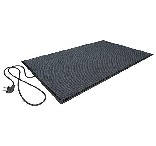 Elektrischer Heizteppich/Heizmatte/Schuhtrockner Plus 70 Watt 80X50 cm (Grau)