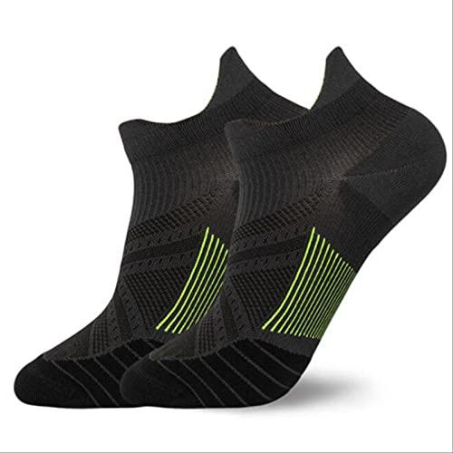 PPaoteman Calcetines Deportivos Unisex Antisudor De 3 Colores, Calcetines Transpirables De Tubo Corto para Hombres Y Mujeres, Calcetines Deportivos De Baloncesto para Correr Al Aire Libre