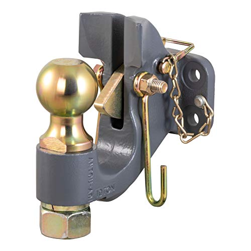 Fantastic Prices! CURT 48410 SecureLatch 2-5/16-Inch Ball and Pintle Hitch Hook Combination, 20,000 ...