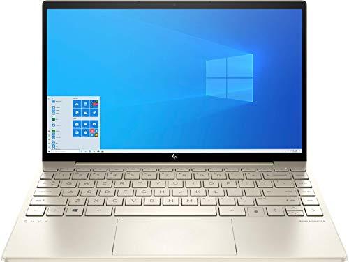 HP ENVY 13-ba0005ns - Ordenador portátil de 13.3' FullHD (Intel Core i7-10510U, 16GB RAM, 512GB SSD, NVIDIA GeForce MX350, Windows 10 Home) dorado - Teclado QWERTY Español