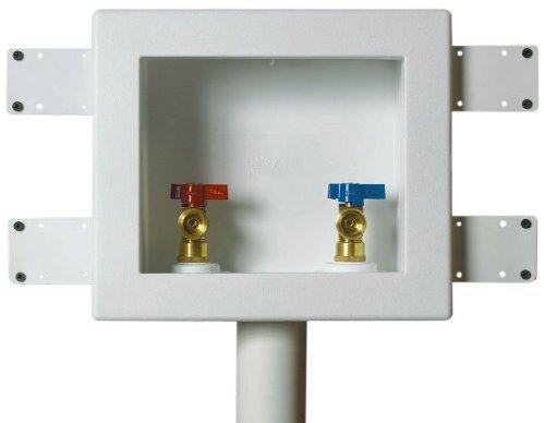 Oatey 38531 2-Inch CPVC Standard Pack 1/4 Turn Brass Ball Valves by Oatey