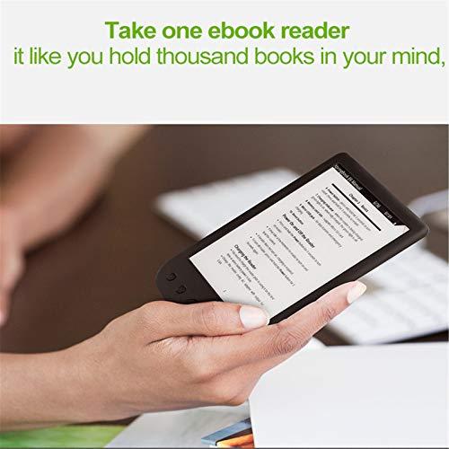 LIanHua BK-6025 Lector de Libros electrónicos en Papel Eink Ink Screen e-Book miniatura