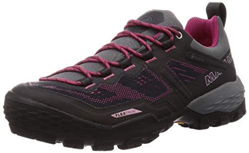 Mammut Damen Zapatilla DUCAN Low GTX Sneaker, Phantom/Dark Pink, 38 EU