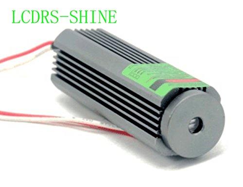 110 ° 50mw 532nm Modulo Linea Laser Verde 25x75mm con 3-5V