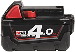 Milwaukee M18B4 4.0Ah Lithium-Ion Battery - Red