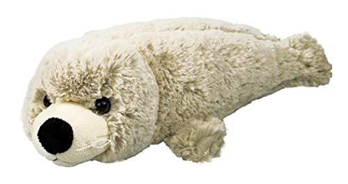 Inware 6990 - Peluche Phoque, beige/gris, 20 cm