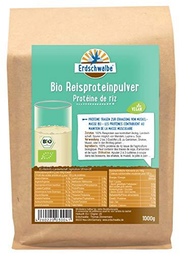 Erdschwalbe -   Bio Reisprotein -